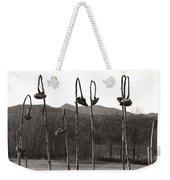 Sunflower Swingset Weekender Tote Bag
