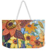 Sunflower Tropics Part 1 Weekender Tote Bag