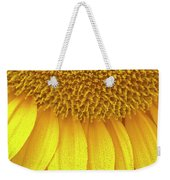 Sunflower Up Close Weekender Tote Bag