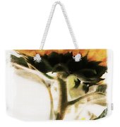 Sunflower Watercolor Weekender Tote Bag