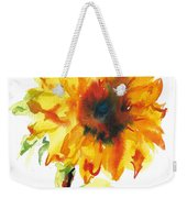 Sunflower With Blues Weekender Tote Bag