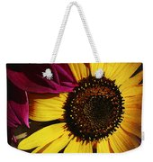 Sunflower With Dahlia Weekender Tote Bag