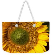 Sunflower With Old Key Weekender Tote Bag