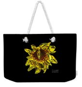 Sunflower With Stone Effect Weekender Tote Bag