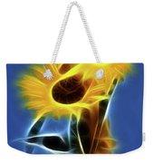 Sunflowers-4969-fractal Weekender Tote Bag