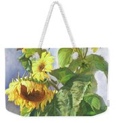 Sunflowers After The Rain Weekender Tote Bag