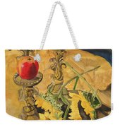 Sunflowers And Apples Weekender Tote Bag