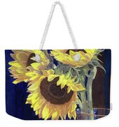 Sunflowers And Light Weekender Tote Bag