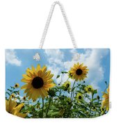 Sunflowers And The Bee Weekender Tote Bag