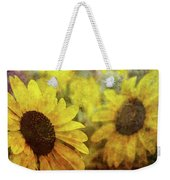 Sunflowers And Water Spots 2773 Idp_2 Weekender Tote Bag