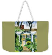 Sunflowers  At Florence Griswold Weekender Tote Bag