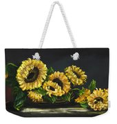 Sunflowers From The Garden Weekender Tote Bag