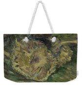 Sunflowers Gone To Seed Paris, August - September 1887 Vincent Van Gogh 1853  1890 Weekender Tote Bag