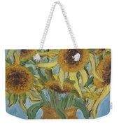 Sunflowers II. Weekender Tote Bag