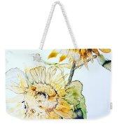 Sunflowers II Weekender Tote Bag by Monique Faella