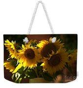 Sunflowers In A Vase Weekender Tote Bag