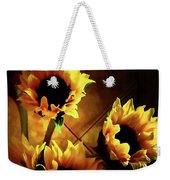 Sunflowers In Shadow Weekender Tote Bag