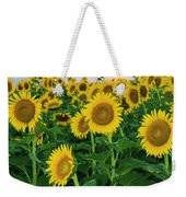 Sunflowers In The Sky Weekender Tote Bag