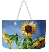 Sunflowers In Vase Weekender Tote Bag