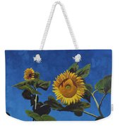 Sunflowers Weekender Tote Bag by Marco Busoni