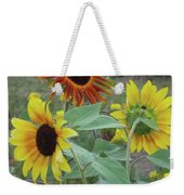 Sunflowers Of August Weekender Tote Bag