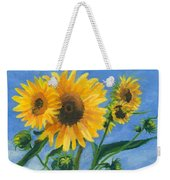 Sunflowers On Bauer Farm Weekender Tote Bag