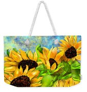 Sunflowers On Holiday Weekender Tote Bag