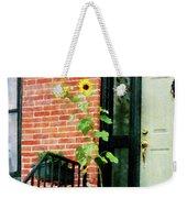 Sunflowers On Stoop Weekender Tote Bag
