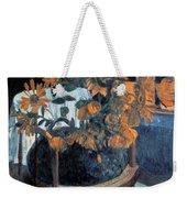 Sunflowers, 1901 By Paul Gauguin  Weekender Tote Bag