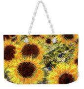 Sunflowers Summer Van Gogh Weekender Tote Bag