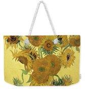 Sunflowers, 1888  Weekender Tote Bag