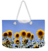 Sunflowers With A Cloud Weekender Tote Bag