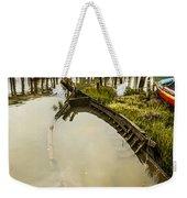 Sunken Fishing Boat Weekender Tote Bag