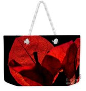 Sunlight Behind The Petals Weekender Tote Bag