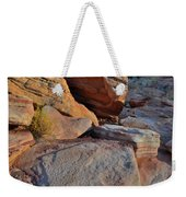 Sunlight Fades Out On Valley Of Fire Weekender Tote Bag