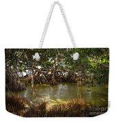 Sunlight In Mangrove Forest Weekender Tote Bag