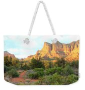 Sunlight On Sedona Rocks Weekender Tote Bag