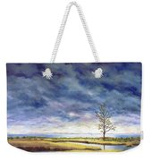 Sunlight On The Marshes 18x24 Weekender Tote Bag