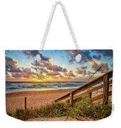 Sunlight On The Sand Weekender Tote Bag by Debra and Dave Vanderlaan