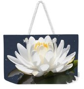 Sunlight On Water Lily Weekender Tote Bag
