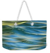 Sunlight Over The River Weekender Tote Bag by Donna Blackhall