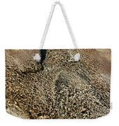 Sunlight Reflection On Underwater Stones And Rocks, Reshi River, Sikkim , India Weekender Tote Bag