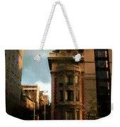 Sunlight Slant On Midtown Weekender Tote Bag