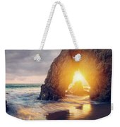 Sunlight Threads The Needle Weekender Tote Bag