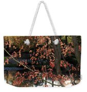 Sunlight Through Japanese Maple Weekender Tote Bag