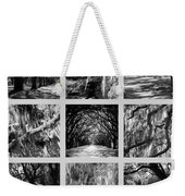 Sunlight Through Live Oaks Collage Weekender Tote Bag
