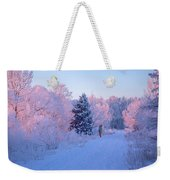 Sunlight Through The Frost Weekender Tote Bag