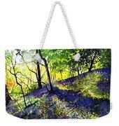 Sunlit Bluebell Wood Weekender Tote Bag