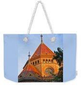 Sunlit Church Aglow Weekender Tote Bag