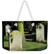 Sunlit Churchyard Weekender Tote Bag